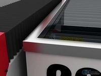 水箱5mm厚钢板,四边白钢装饰框造型美观