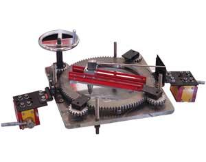 雷达式圆孔切割工装